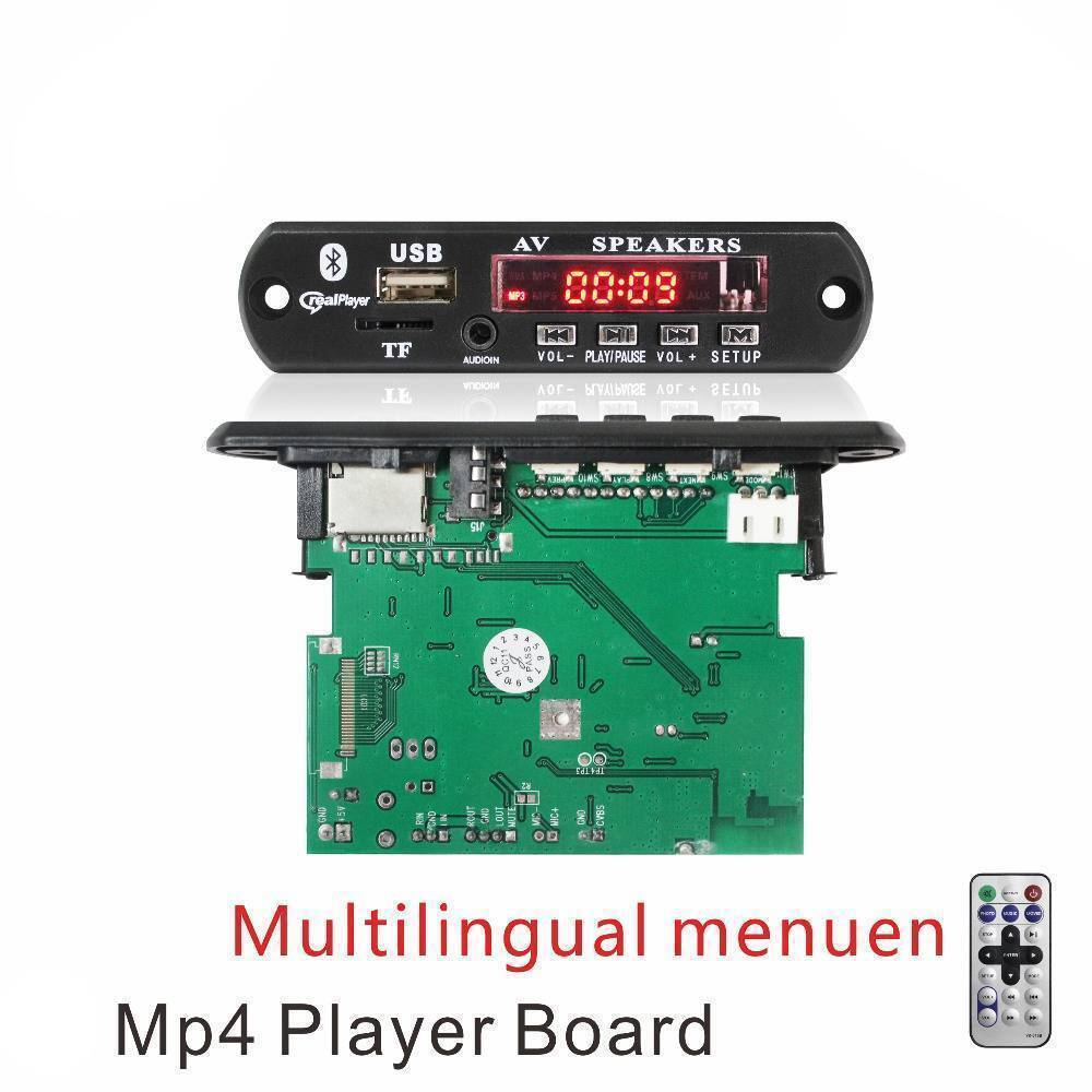 Bluetooth Usb Mp4 Video Fm Radio Kit Player in pakistan