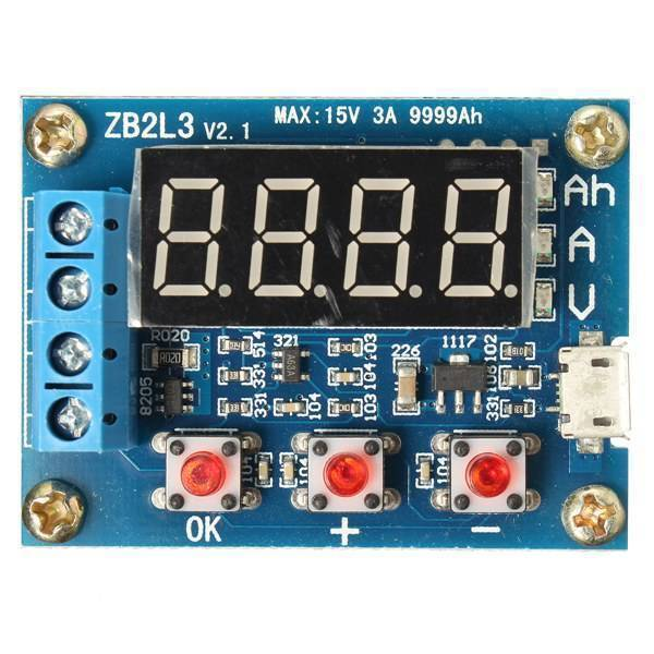 Zb2l3 Battery Capacity Tester External Load Discharge Type Module In Pakistan
