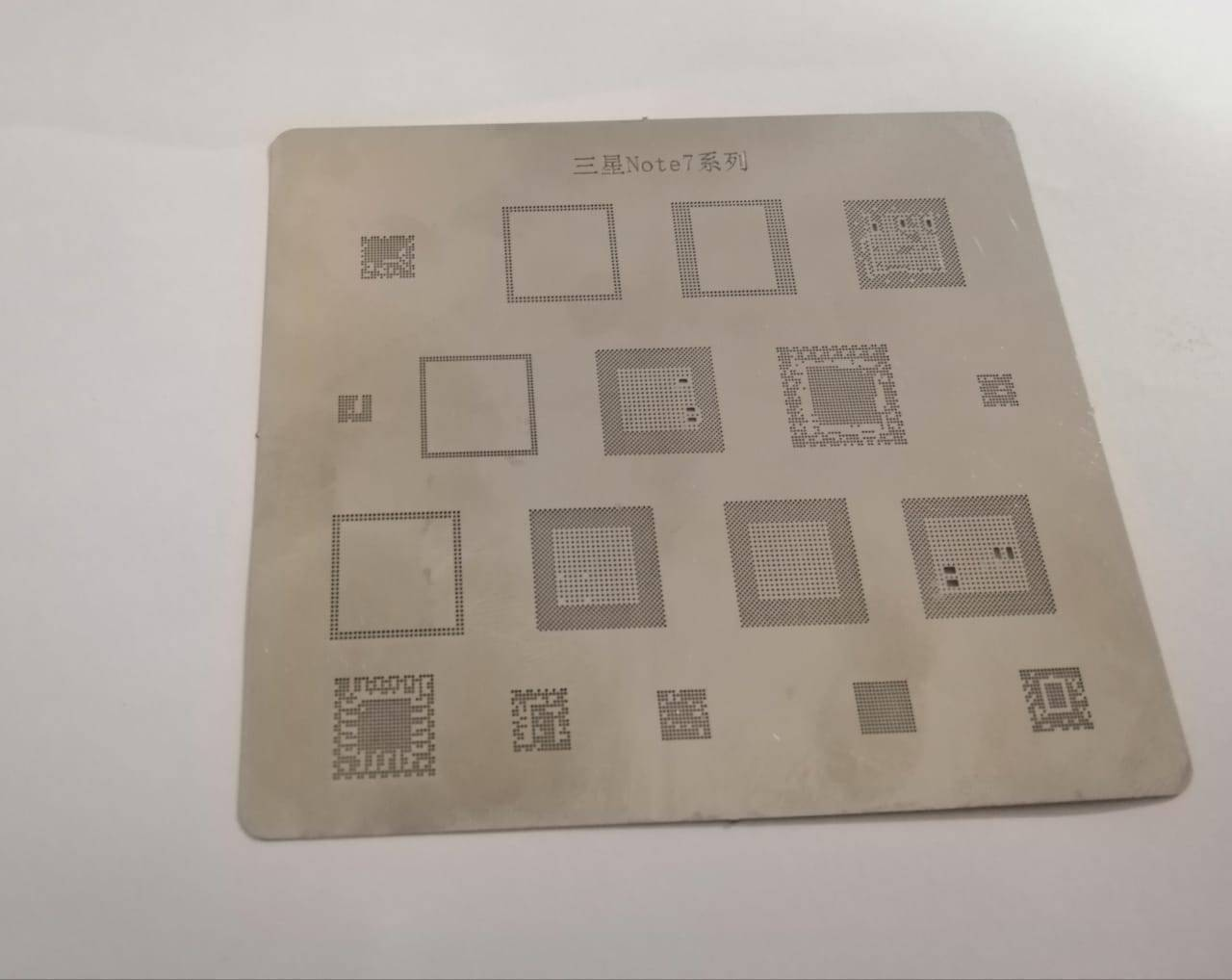 IC Chip BGA Reballing Stencil Kits Set Solder Template for Samsung Note 7