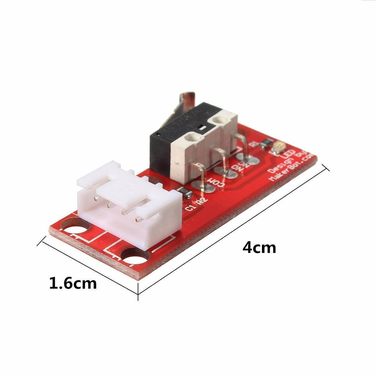 Mechanical End Stop Endstop Limit Switch With Cable For CNC 3D Printer RAMPS 1.4 in Pakistan