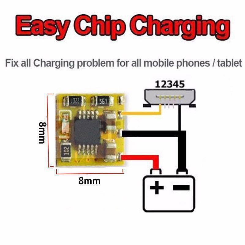 Universal Power Charging Control IC Replacement Part for iPhone Samsung Sony All Mobiles
