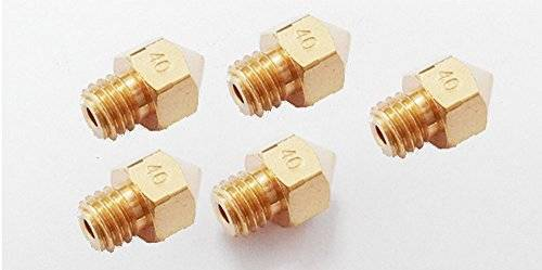 0.4mm 3D Printing Nozzle 3D Printer Accessories Mk8 Brass Nozzle In Pakistan