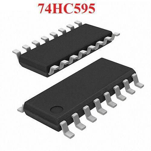 74HC595 74HC595D SOP16 Patch  8 Bit Serial Shift Register