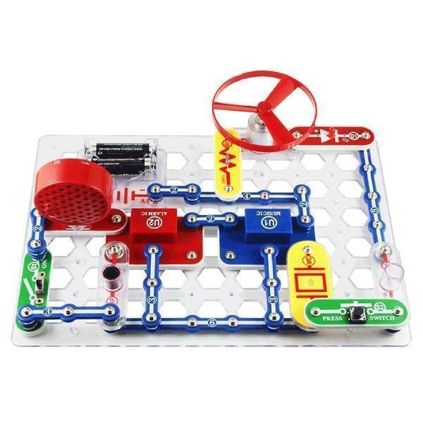 Snap Circuits Jr SC-100 Electronics Discovery Kit