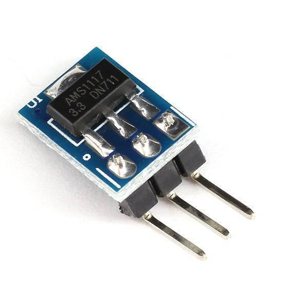 AMS1117-3.3 DC Buck Converter Voltage Regulator 3Pin Step-Down Power Supply Module in Pakistan