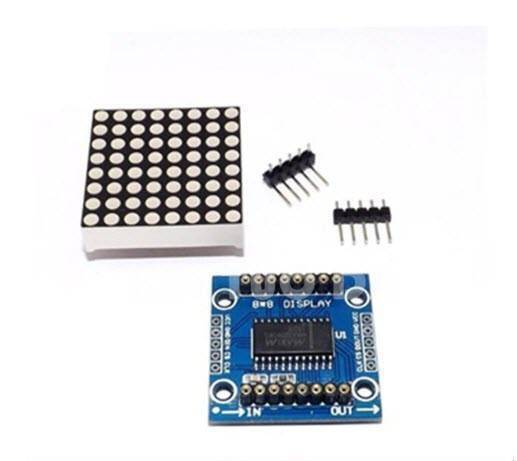 MAX7219 Dot matrix module MCU control unit LED display module in Pakistan