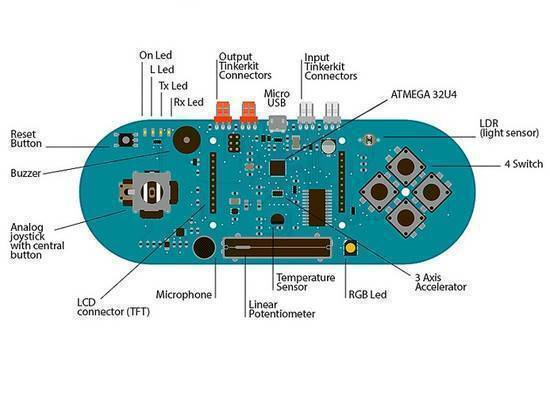Arduino ESPLORA Joystick Photosensitive Sensor Board Support LCD in Pakistan