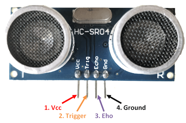HC SR04 HC-SR04 Ultrasonic Sensor In Pakistan
