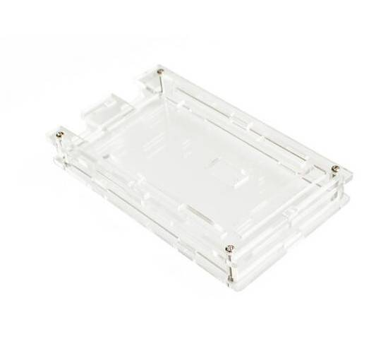 Transparent Acrylic Case Shell Enclosure Gloss Box For Arduino Mega 2560 R3 in Pakistan