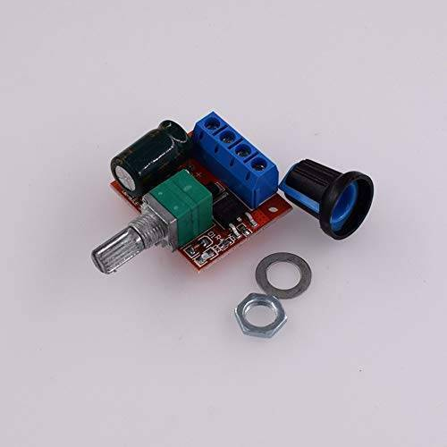HW-687 5A Mini DC Motor PWM Speed Controller Module in Pakistan