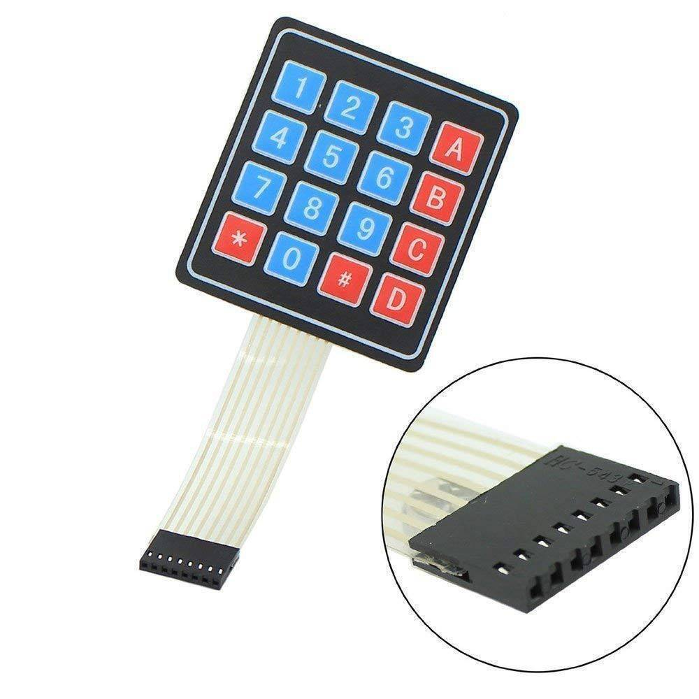 Arduino 4X4 Keypad Matrix Keypad Membrane Switch