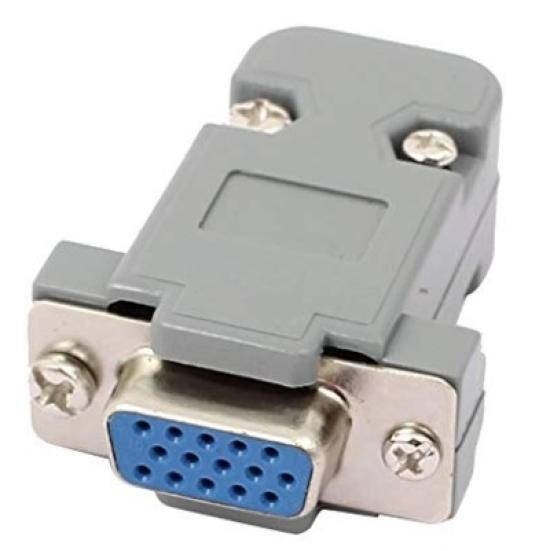 VGA connector with cover Type A Female