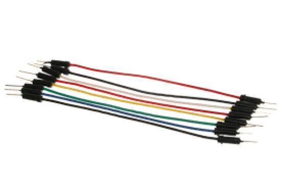 20Cm Pin To Pin  1 Pin Jumper Wire Dupont Line Arduino Male To Male