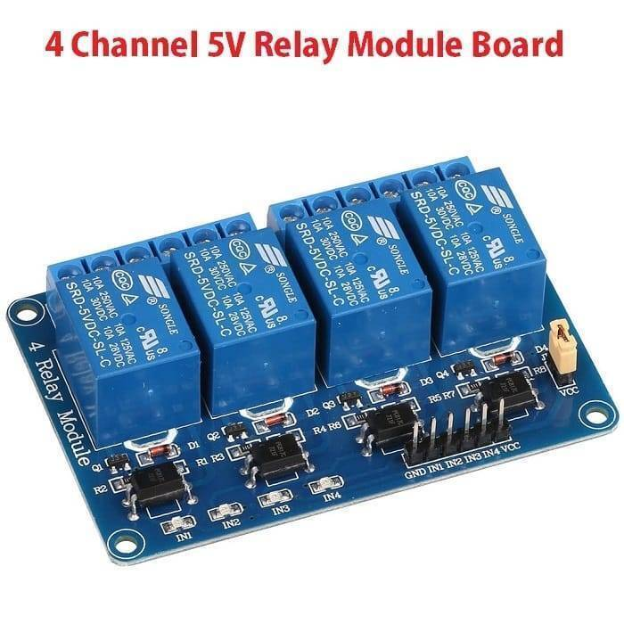 Arduino 4 Channel Relay Module Board