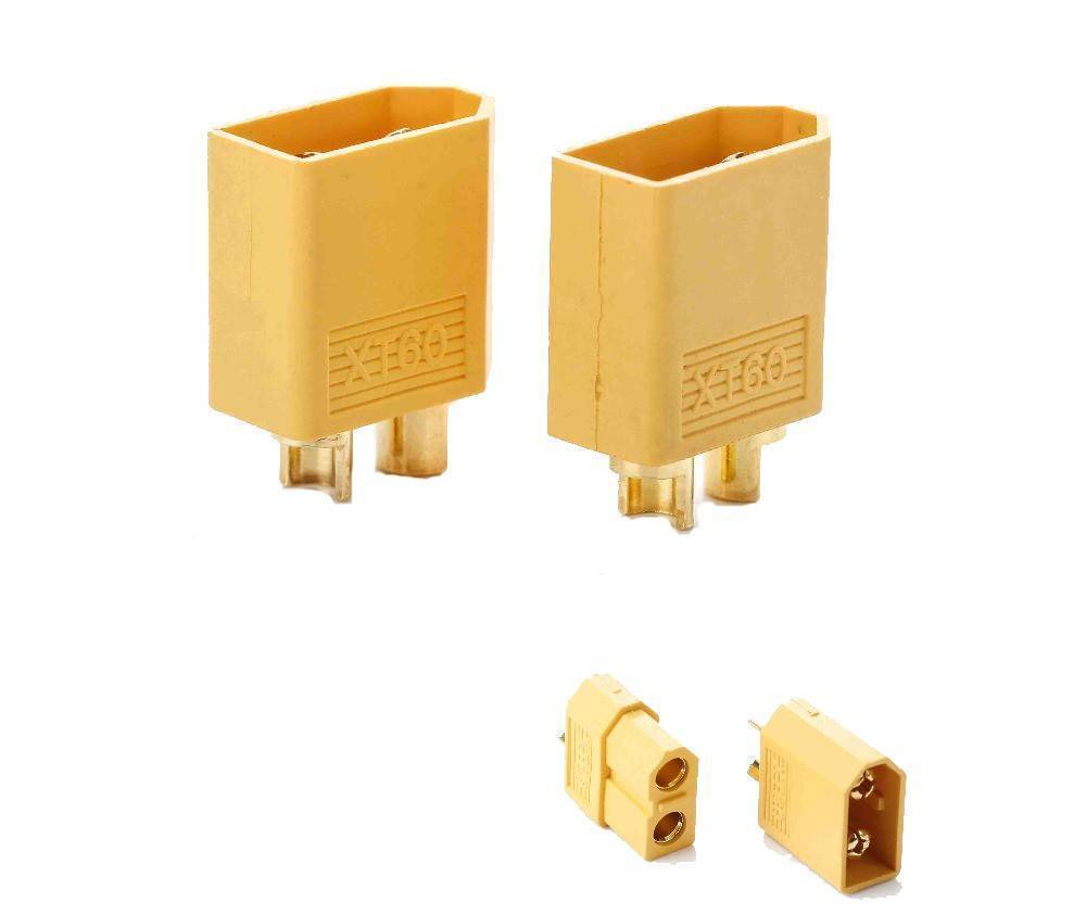 XT60 XT-60 Male Female Bullet Connectors Plugs For RC Lipo Battery in Pakistan
