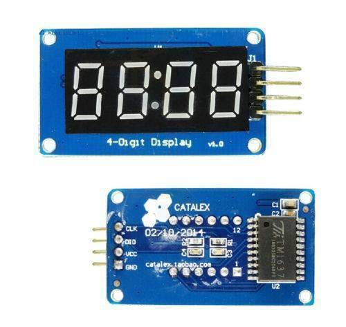 Arduino TM1637 4 Digit 7 Segment Display Module LED Display Module