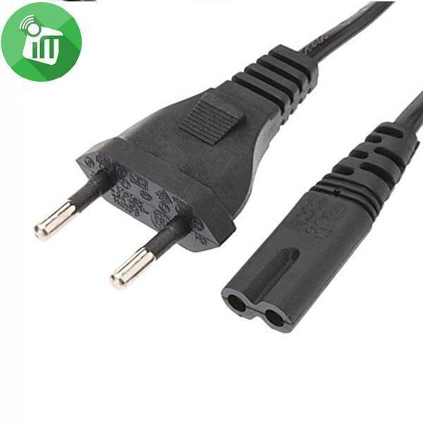 2 Prong AC Power Cord (1.5 meter long)