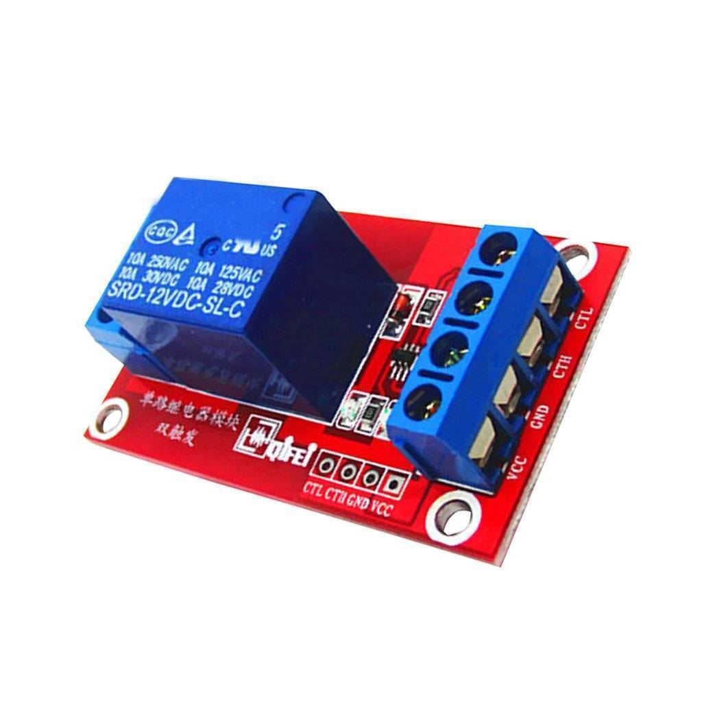 3V 1 Channel Relay Module Interface Board Low Level Trigger Optocoupler for Arduino