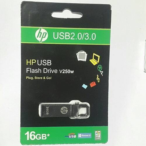 16GB Economical USB 3.0 HP USB Flash Drive V250W