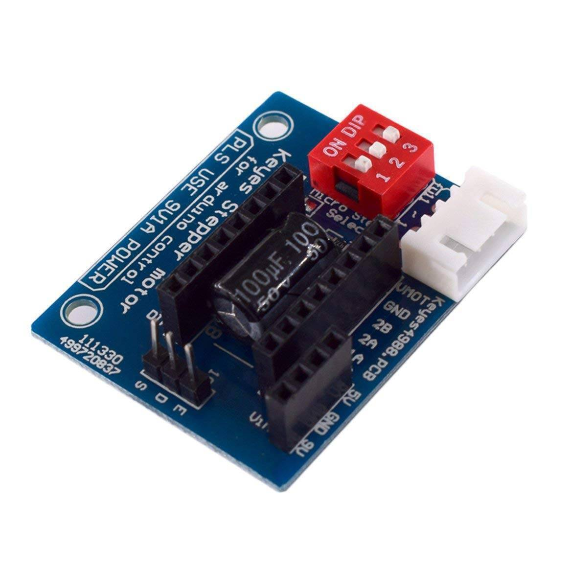 HW-434 A4988 DRV8825 Stepper Motor Driver Control Panel Board Expansion Shield Board Module for 3D Printer in Pakistan