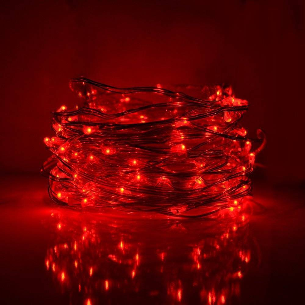 Fairy Lights in Red Color for Special Decor in Pakistan