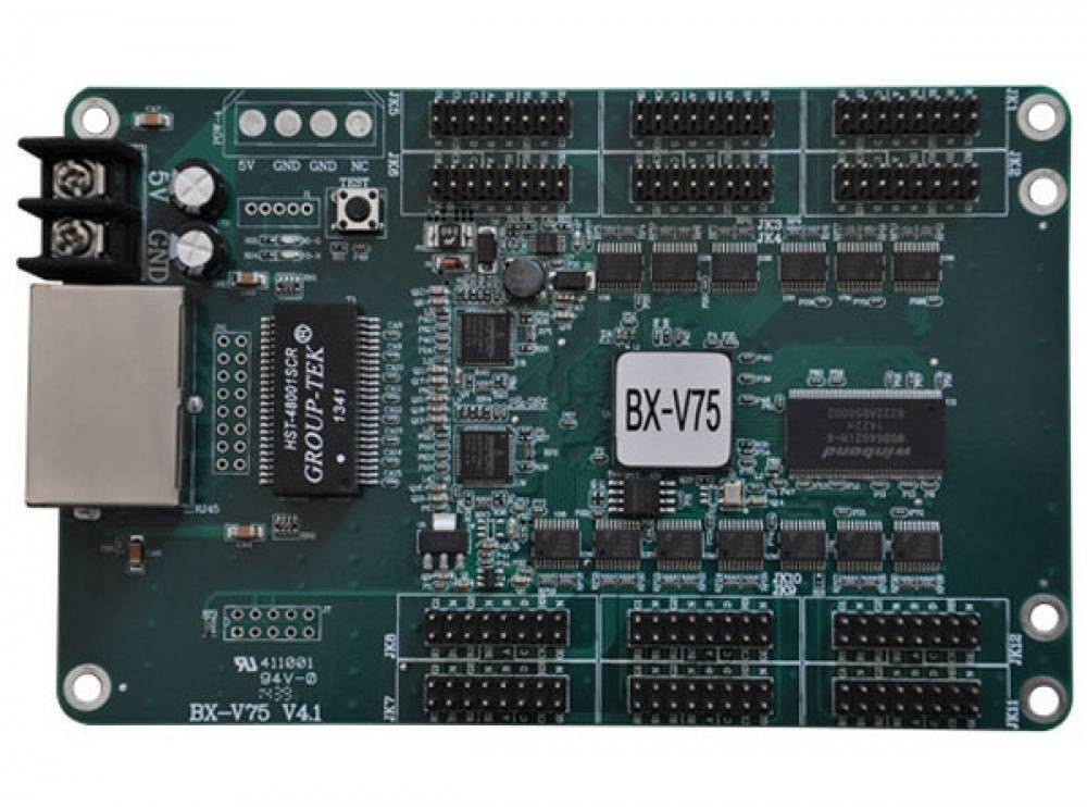 ONBON BX-V75 Synchronous full color led receiving card in pakistan