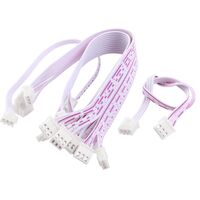7 wires 2.54mm Pitch Female to Female JST XH Connector Cable Wire 30cm