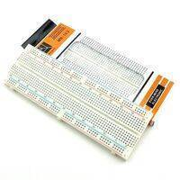 MB102 830 Points Solderless Prototype PCB Breadboard High Quality