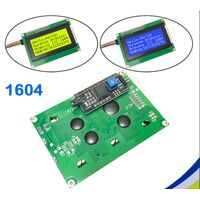 IIC I2C TWI 164 1604 16x4 LCD screen module character series with backlight for Arduino