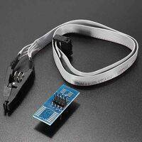 SOIC8 SOP8 Test Clip For EEPROM 93CXX 25CXX 24CXX in circuit programming