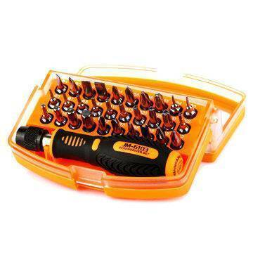 JM-6103 31 in 1 Multi-functional Screwdriver Hand Tool Set Household