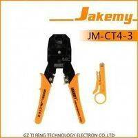 JM-CT4-3 RJ45 RJ11 RJ12 CAT5 Cat5e Portable LAN Network Crimper Plug Pliers Set With Wire Stripper Cutter Pliers Tool Kit