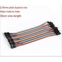 30cm Pin To Pin Dupont 40 Pin Arduino Jumper Wire