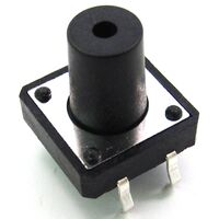 12 mm knob 4 pin Basic Digital I/O: Slide Switch, Push Button