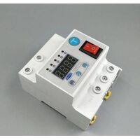 63A Automatic Re connection Circuit Breaker Over and Under Voltage Leakage Protection Current to Protect Relay