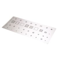 IC Chip BGA Reballing Stencil Kits Set Solder Template Multi-Function CPU Tin Steel Net For Samsung Note 6