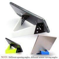 V Shaped Fold able Universal Mobile Phone Tablet PC Stand Holder Pocket-Sized Kickstand for Desk