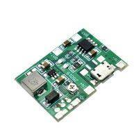 3.7V 9V 5V 2A Adjustable Step Up 18650 Lithium Battery Charging Discharge Integrated BMS Module