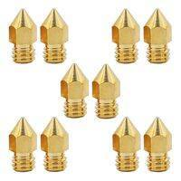 0.2mm 3D Printing Nozzle 3D Printer Accessories Mk8 Brass Nozzle In Pakistan