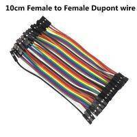 10Cm Hole To Hole Jumper Wire Dupont Line 40 Pin Female To Female Arduino Jumper Wires