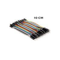 10Cm Pin To Hole Jumper Wire Dupont Line 40 Pin Male To Female Arduino Jumper Wires