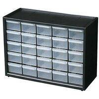 25 Section Cabinet Plastic Drawer Organizer Box Components Jewelry Box