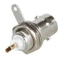 BNC Chassis Mount Female Connector with Ground Tab OPEK AT-7031