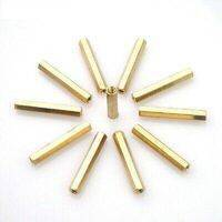 25mm Brass PCB M3 Hex Female Threaded Brass Spacer