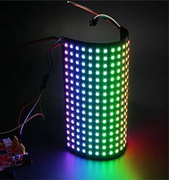 16x16 256 pixels WS2812B Individually Addressable RGB LED Matrix Panel