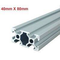 4080 Aluminium Profile Aluminium Extrusion For CNC Machines 1Feet