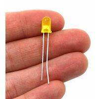 5mm Yellow LED Light Emitting Diode