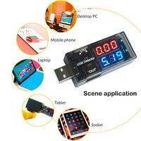USB Current Voltage Meter Battery Tester