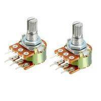 Dual Stereo Volume Type Variable Resistor Potentiometer