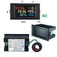 Multifunction Electric Energy Meter with LCD Display D69 2058
